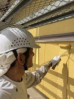5-7外壁上塗りダイナミックトップ塗布2回目 (1)
