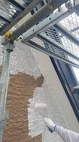 9-22外壁ソフトサーフ中塗り塗布 (3)