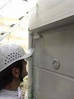 9-14外壁ソフトサーフ中塗り塗装 (1)