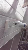 8-23外壁南面東面ソフトサーフ中塗り2回目塗装