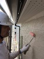 6-19外壁下塗りミラクシーラーECO塗布 (1)