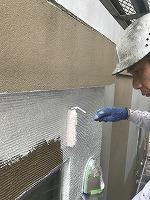 8-29外壁ソフトサーフ中塗り塗装(6)
