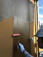 8-24外壁ミラクシーラーECO下塗り塗装(2)