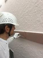6-24破風幕板上塗りフッ素塗布2回目 (3)
