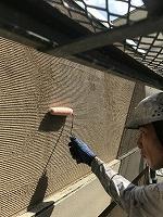 8-25外壁ミラクシーラーECO下塗り塗装(1)