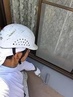 7-18増築部ベランダ床トップコート保護膜塗装