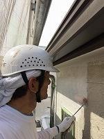 6-20外壁ソフトサーフ塗布1