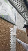 9-22外壁ソフトサーフ中塗り塗布 (6)
