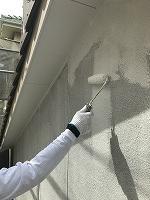 5-16壁面(SK水性ソフトサーフ)中塗り塗装2回目 (3)
