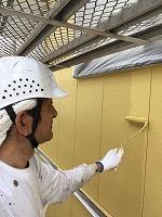 5-7外壁上塗りダイナミックトップ塗布2回目 (3)