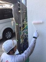 5-28外壁断熱ガイナ上塗り2回目1