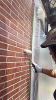 8-24外壁UVプロテクトクリヤー3回目塗装 (7)