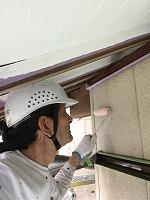 5-3外壁エポキシ系シーラー下塗り塗布4