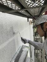 5-16壁面(SK水性ソフトサーフ)中塗り塗装2回目 (4)