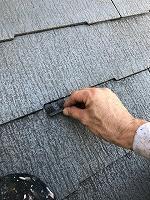 8-23大屋根タスペーサー取り付け作業(2)