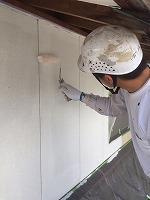 5-4外壁ダイナミックフィラー中塗り塗布2