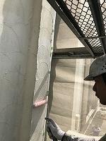 4-29外壁下塗りミラクシーラーECO塗布 (2)