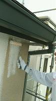 7-11外壁ダイナミックフィーラー中塗り塗布(1)