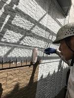 9-23壁面(SK水性ソフトサーフ)中塗り塗装2
