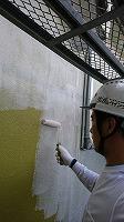 7-6外壁ソフトサーフ中塗り (1)