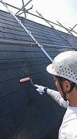 7-31屋根下塗りミラクシーラーEPO塗布2回目 (1)