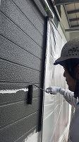 7-28外壁1階上塗りラジカルコート1回目塗布 (1)