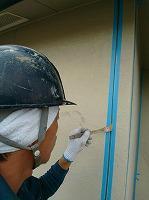 5-15シール工事のプライマー塗布