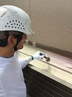 9-5ベランダ床ハイポンファインデクロ下塗り塗装 (2)