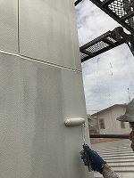 8-26外壁上塗りガイナ塗布2回目 (2)
