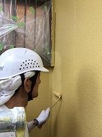 5-7外壁上塗りダイナミックトップ塗布2回目 (2)