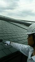 5-24屋根シリコンベスト上塗り2回目
