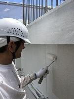 5-27外壁上塗りガイナ塗布 (2)