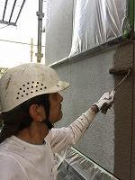 8-26外壁上塗りラジカルコートパーフェクトトップ塗布1回目 (4)