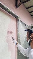 5-31壁上塗りセラミシリコン一回目塗装 (2)
