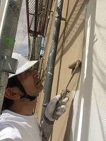 6-9外壁断熱ガイナ上塗り1回目塗布4