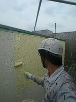 5-31外壁ダイナミックトップ上塗り1回目