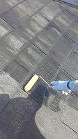 7-21屋根ミラクシーラーEPO下塗り2回目塗布