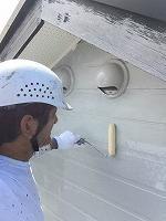 9-14外壁ミラクシーラーECO下塗り塗装 (1)