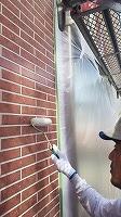 8-23外壁UVプロテクトクリヤー1回目塗装 (4)