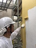 5-6外壁上塗りダイナミックトップ塗布1回目 (4)