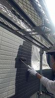 7-28外壁1階上塗りラジカルコート1回目塗布 (4)