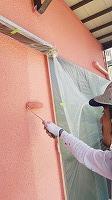 6-2南面壁上塗りセラミシリコン三回目塗装 (2)