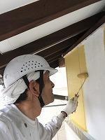 5-6外壁上塗りダイナミックトップ塗布1回目 (3)