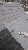 8-26屋根上塗りガイナ塗布1回目 (2)