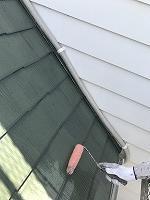 6-9屋根(SKミラクシーラーEPO)下塗り塗装1回目 (3)