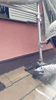 6-6屋根上塗りシリコンベスト塗布1回目 (3)