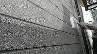 5-11外壁中塗りダイナミックフィラー塗布1