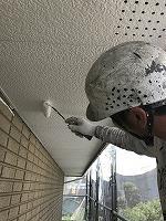 5-30軒天井(ニッペケンエースGII)上塗り1回目塗布�