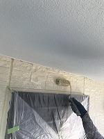 9-25外壁上塗りフッ素塗布2回目2