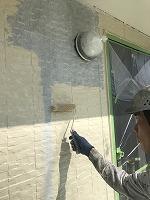 9-25外壁上塗りフッ素塗布1回目3